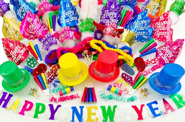 New Year S Eve Party Supplies At Amols Fiesta Party
