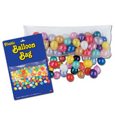 New Years Balloons Balloon Bag with Multicolor Balloons Image