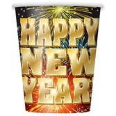 New Years Table Accessories New Year's Fireworks Cups Image