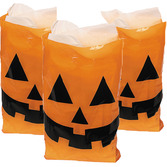 Halloween Gift Bags & Paper Large Jack O' Lantern Tote Bags Image
