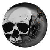 Halloween Table Accessories Skull Terror Lunch Plates Image