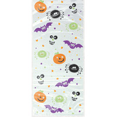 Halloween Gift Bags & Paper Spooky Smile Cello Bags Image