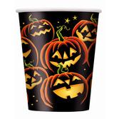 Halloween Table Accessories Pumpkin Grin Cups Image