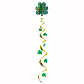 St. Patrick's Day Decorations Jumbo Shamrock Whirl Image