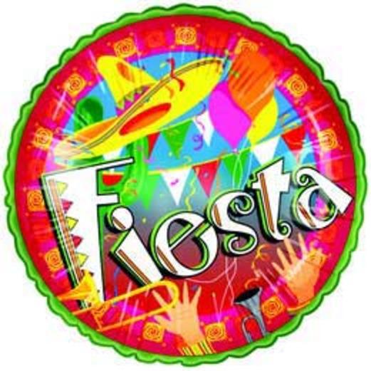 Fiesta Balloons Fiesta Mylar Balloon Image