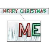 Christmas Decorations Merry Christmas Banner Image