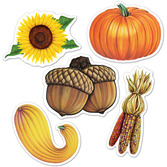 Thanksgiving Decorations Mini Fall Cutouts Image