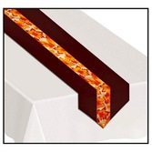 Thanksgiving Table Accessories Autumn Leaves Fabric Table Runner Image