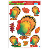Thanksgiving Decorations Thanksgiving Turkey Glass Magnets Image