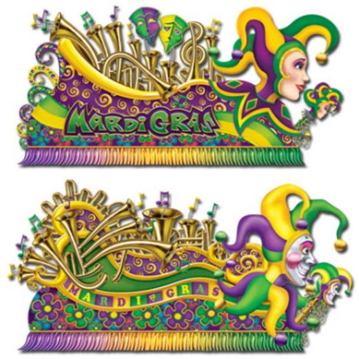 mardi gras decorations mardi gras float props image - Mardi Gras Decorations