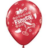 """Cinco de Mayo Balloons 11"""" Fiesta Balloons Image"""