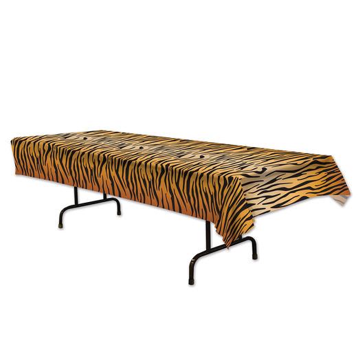 Jungle & Safari Table Accessories Tiger Print Table Cover Image