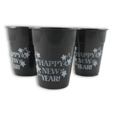 New Years Table Accessories Plastic Happy New Year Cups Image