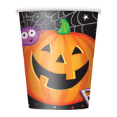 Halloween Table Accessories Pumpkin Pals Cups Image