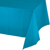Easter Table Accessories Rectangular Table Cover Turquoise Image