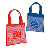 Western Gift Bags & Paper Bandana Print Tote Bags Image