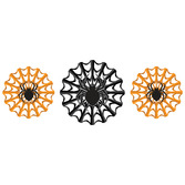 Halloween Decorations Spider Tissue Fans Image