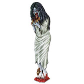 Halloween Decorations Zombie Girl Cutout Image