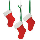 Christmas Favors & Prizes Resin Stocking Ornament Image