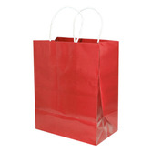 Valentine's Day Gift Bags & Paper Medium Gift Bag Red Image