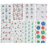 Christmas Gift Bags & Paper Holiday Cellophane Bags Image
