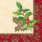Christmas Table Accessories Elegant Holiday Lunch Napkins Image