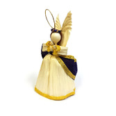 Christmas Decorations Cornhusk Small Angel Image