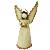 Christmas Decorations Large Cornhusk Angel Image