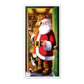 Christmas Decorations Santa Door Cover Image