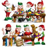 Christmas Decorations Santa's Workshop Props Image