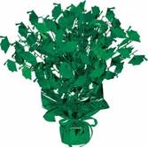 Graduation Decorations Green Graduation Cap Centerpiece Image