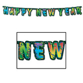 New Years Decorations Happy New Year Streamer Image