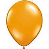 "Halloween Balloons 11"" Mandarin Orange Balloons Image"