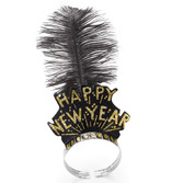New Years Hats & Headwear Gold Swing Tiara Image