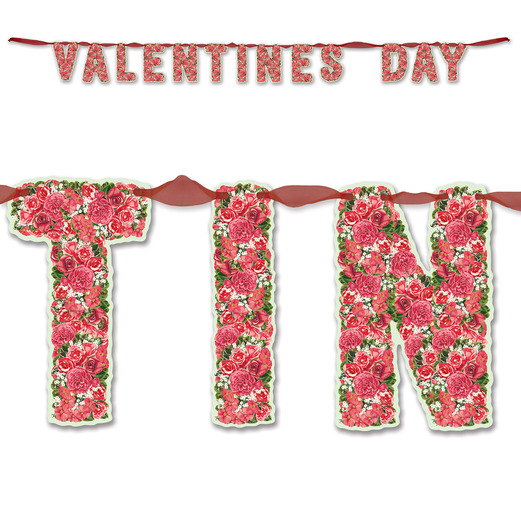 Valentine's Day Decorations Valentine's Day Streamer Image