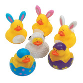 Easter Favors & Prizes Easter Rubber Duckies Image