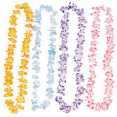 Luau Party Wear Mini Floral Petal Leis Image