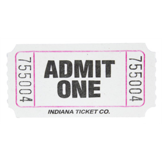 Party Supplies at Amols Fiesta Party Supplies – Blank Admit One Ticket Template