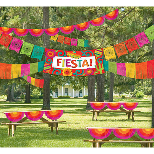 Cinco de Mayo Decorations Giant Fiesta Decorating Kit Image