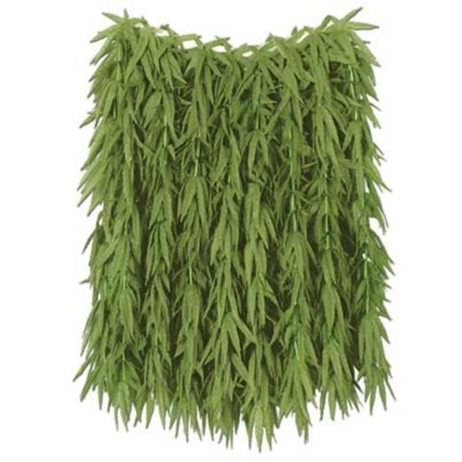 Luau Party Wear Fern Leaf Hula Skirt Image