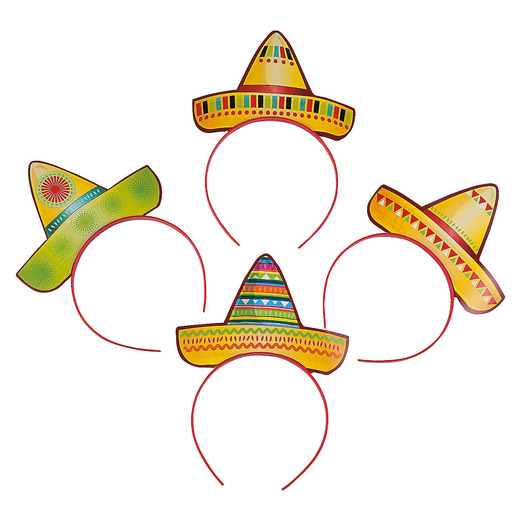 Cinco de Mayo Hats & Headwear Sombrero Headbands Image