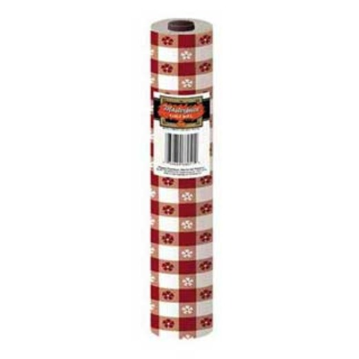 Western Table Accessories 100' Table Roll Red Gingham Image