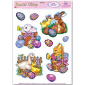 Easter Decorations Easter Animal Clings Image