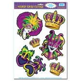 Mardi Gras Decorations Mardi Gras Clings Image