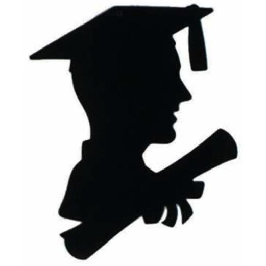 Graduation Decorations Boy Graduate Cutout Image