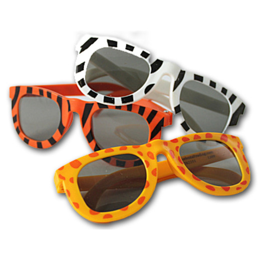Jungle & Safari Favors & Prizes Animal Print Sunglasses Image