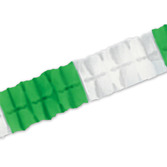St. Patrick's Day Decorations Green and White Leaf Garland Image