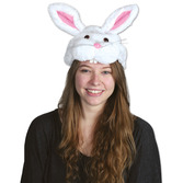 Easter Party Wear Plush Bunny Hat Image