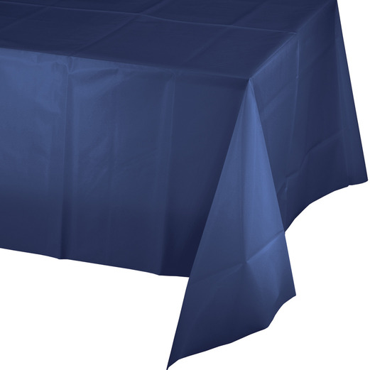 4th of July Table Accessories Rectangular Table Cover Navy Blue Image