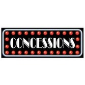 Awards Night & Hollywood Decorations Concessions Sign Image